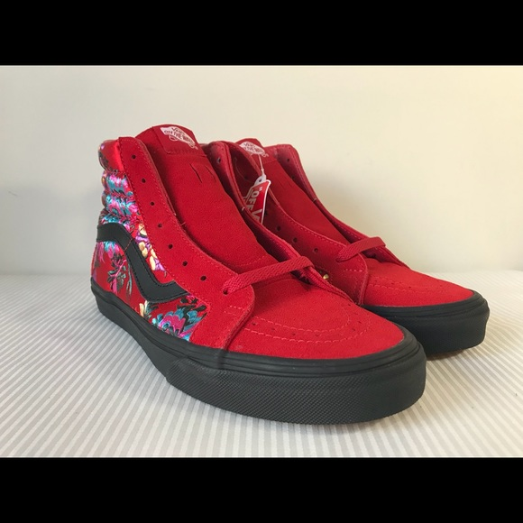 Vans Sk8-Hi Reissue Festival Satin Sneakers NWT